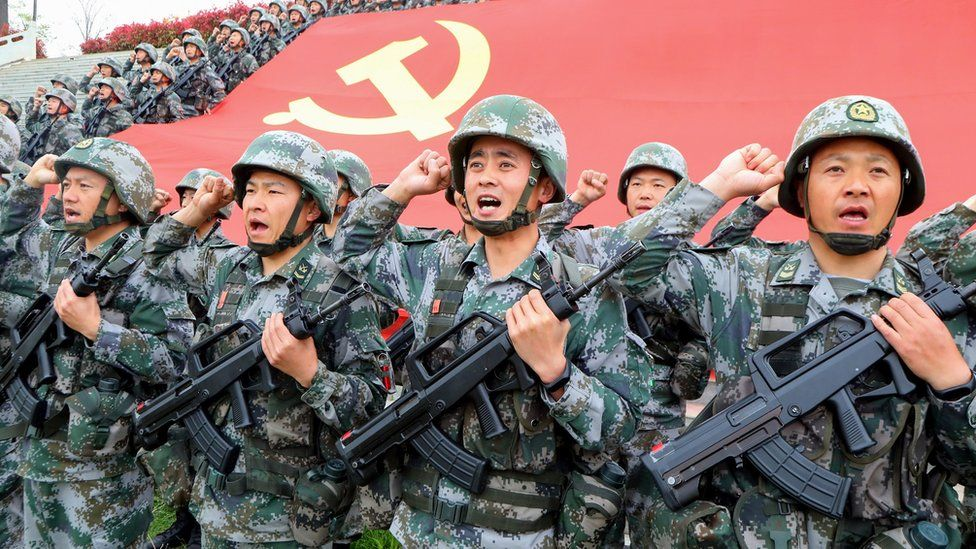 """""""systemic threats"""" from Beijing, China accused Nato of slandering its peaceful growth."""